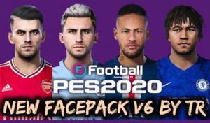 فیس پک v6 برای PES 2020 توسط TR