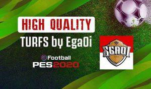 دانلود مود چمن High Quality Turfs برای PES 2020 توسط Egaoi