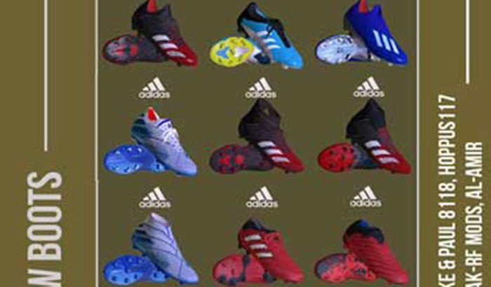 پک کفش Boot Repack AIO JANUARY برای PES 2017