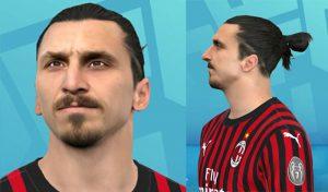 فیس Zlatan Ibrahimović برای PES 2017 توسط A5 Facemaker