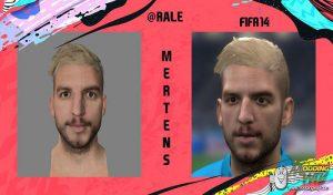 دانلود فیس Dries Mertens برای FIFA 14