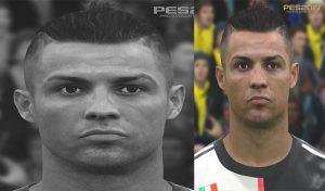 فیس Cristiano Ronaldo برای PES 2017 توسط love01010100