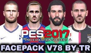 دانلود فیس پک V78 برای PES 2017 توسط TR