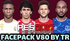 دانلود فیس پک V80 برای PES 2017 توسط TR