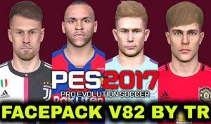 دانلود فیس پک V82 برای PES 2017 توسط TR