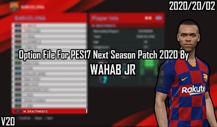 پچ Next Season 2020 برای PES 2017 + آپدیت رسمی V2