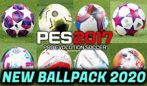 پک توپ فصل 2020 برای PES 2017 ورژن 3 توسط DF Pro