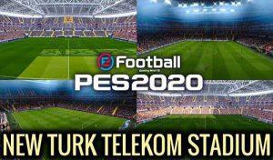 استادیوم Turk Telekom Arena برای PES 2020