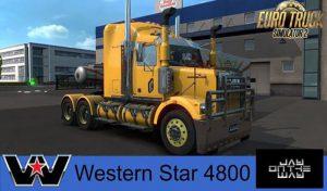 دانلود کامیون WESTERN STAR 4800 برای یورو تراک 2
