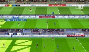 دانلود اسکوربورد پک Serie A V2 برای PES 2020 فصل 2020