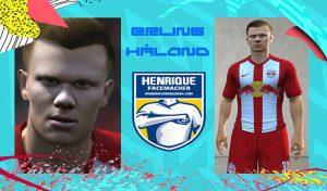 فیس Erling Håland برای FIFA 16 توسط HenriqueMota