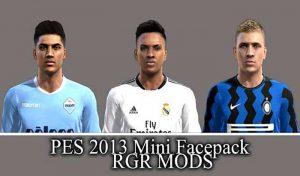 دانلود فیس پک جدید برای PES 2013 توسط Rgr Mods
