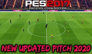 دانلود چمن Updated Pitch 2020برای PES 2017