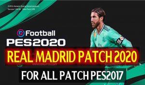 پچ کم حجم Real Madrid 2020 برای PES 2017 توسط DZPLAYZ