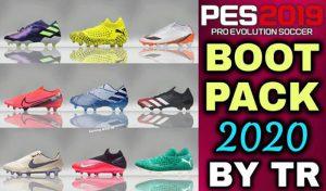 دانلود پک کفش جدید 2020 AIO برای PES 2019 توسط TR