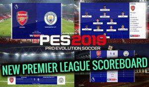 دانلود اسکوربورد جدید مسترلیگ برای PES 2019 توسط Spursfan18