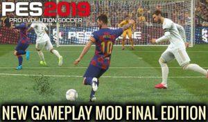 دانلود گیم پلی جدید Final Edition برای PES 2019 توسط Supernova