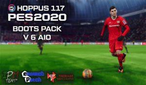 پک کفش v6 AIO برای PES 2020 توسط Hoppus117