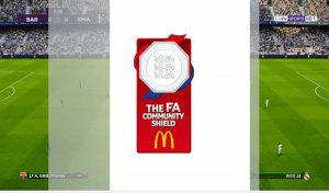 ریپلی لوگو Community Shield برای PES 2020 توسط SG