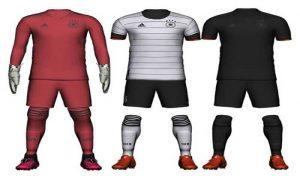 کیت پک تیم ملی آلمان یورو 2020 برای PES 2020