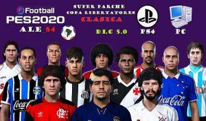 آپشن فایل کلاسیک Libertadores برای PES 2020 – نسخه PS4