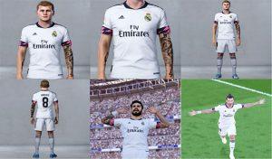 کیت خانگی Real Madrid برای PES 2020 فصل 21-2020 توسط Nikita23k