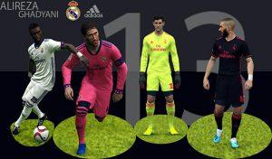 کیت فصل بعد رئال مادرید برای 2017 PES توسط alireza ghadyani