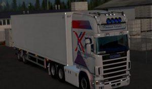 کامیون SCANIA RJL 4 SERIE برای یورو تراک 2