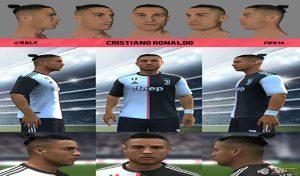 فیس Cristiano Ronaldo 2020 vol2 برای FIFA 14