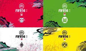 منو گرافیک FIFA 20 BUNDESLIGA CLUB برای FIFA 14