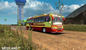 مود اسکین KSRTC برای اتوبوس Maruti V2 یوروتراک 2