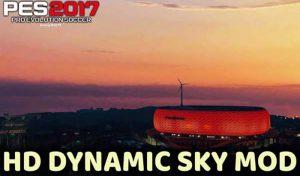 مود HD Dynamic SKY مخصوص All Stadiums برای PES 2017