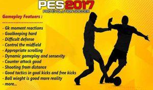 گیم پلی مود v4 برای PES 2017 توسط PES Max Patch