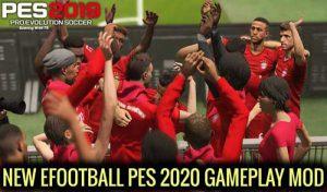 گیم پلی جدید PES 2020 برای PES 2019 توسط Turin82