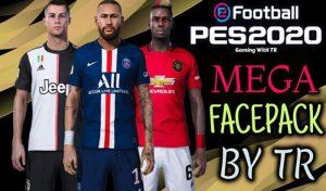 مگا فیس پک جدید Brand برای PES 2020 توسط TR