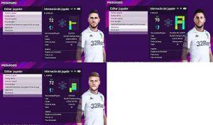 فیس پک Leeds United 3 برای PES 2020 توسط Juanchi25