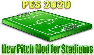 مود زمین چمن برای استادیوم PES 2020 توسط captain8lunt