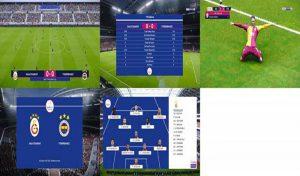 اسکوربورد Süper Lig برای PES 2020 توسط rifcap