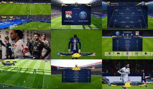 اسکوربورد Coupe de la Ligue برای PES 2020 توسط Overall