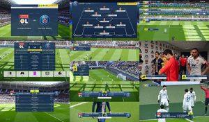 اسکوربورد Ligue 1 Conforama برای PES 2020 توسط Overall