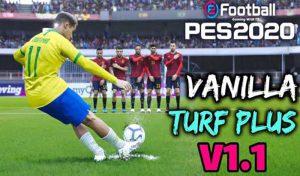 چمن Vanilla Turf Plus v1.1 AIO برای PES 2020 توسط TR