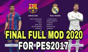 فول منو گرافیک PES 2020 برای PES 2017 توسط DzPlayZ