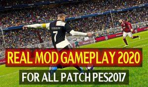 گیم پلی Real Mod برای PES 2017 – فصل 2020-2021 توسط Dzplaylayz