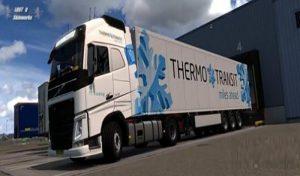 کامیون THERMO TRANSIT VOLVO برای یورتراک 2