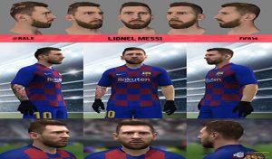 فیس Lionel Messi 2020 برای FIFA 14 توسط RALE