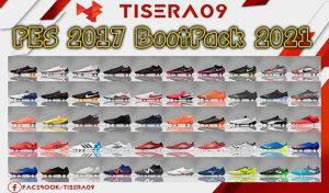 پک کفش BootPack 2020/2021 برای PES 2017 توسط Tisera09