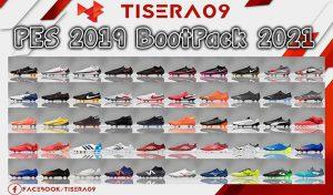 پک کفش BootPack 2020/2021 برای PES 2019 توسط Tisera09