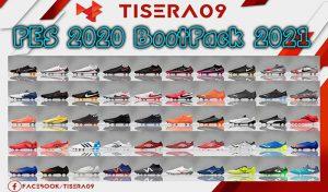پک کفش Bootpack 2020/2021 برای PES 2020 توسط Tisera09