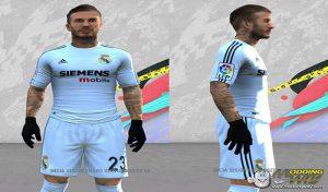 فیس و موی Beckham David برای FIFA 14 توسط Alexian