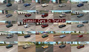 پک ماشین CLASSIC CARS TRAFFIC برای یورو تراک 2